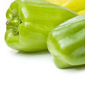 Paprika zelená a bílá